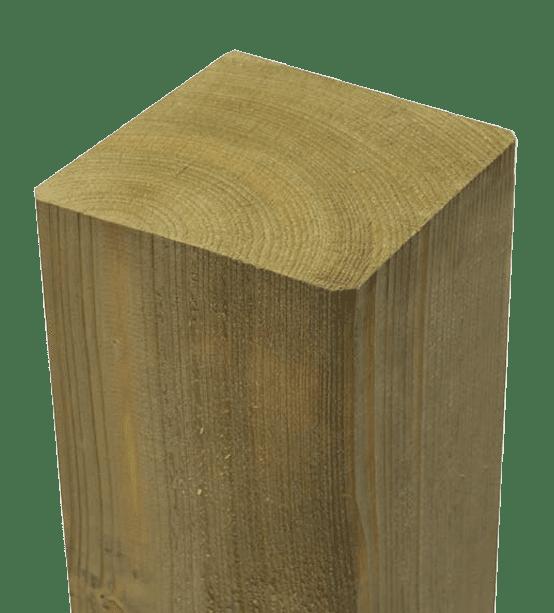Drewno iglaste, nasycony