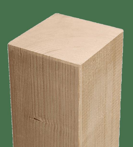 Drewno iglaste + KVH, nieleczony